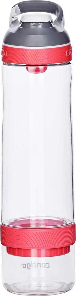 Бутылка для воды Contigo Cortland, цвет: розовый, 750 млcontigo0672Бутылка для воды Contigo Cortland обязательно понравится каждому, кто предпочитает практичность во всем. Благодаря продуманной форме она с легкостью сможет поместиться даже в небольшой сумке, а правильный дизайн позволяет ставить данную бутылку в подстаканник любого автомобиля. Наличие карабина является еще одним преимуществом бутылки для воды Cortland. С его помощью вы легко сможете прикрепить представленную на этой странице бутылку к поясу, и при этом она не будет мешать вам во время бега и выполнения физических упражнений. Важным преимуществом данной бутылки является крышка-непроливайка AutoSeal. Она обеспечивает полную герметичность содержимого, поэтому даже если ваша бутылка упадет, то она не сможет повредить важные документы или электронные устройства. Важно подчеркнуть, что бутылка для воды Cortland изготовлена из инновационного пластика высокого качества, обладающего повышенной прочностью. Благодаря этому даже после самых серьезных падений она останется в целости и сохранности. Данная бутылка подходит для мытья в посудомоечной машине, не сохраняет запахи, представлена в нескольких ярких цветах и обладает рядом других важных преимуществ!