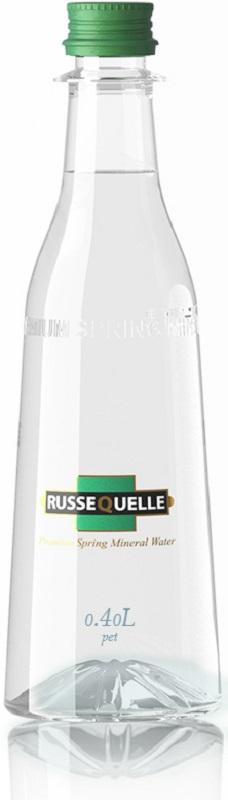 RusseQuelle минеральная родниковая вода негазированная, 0,4 л карамель бон пари дыня арбуз 75 г