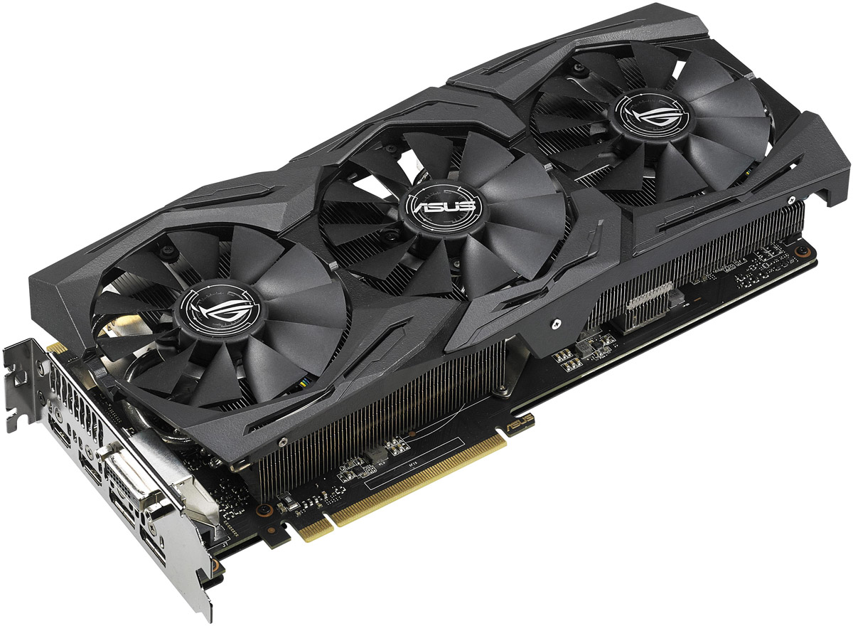 ASUS ROG Strix GTX 1070 Ti Gaming 8GB видеокарта