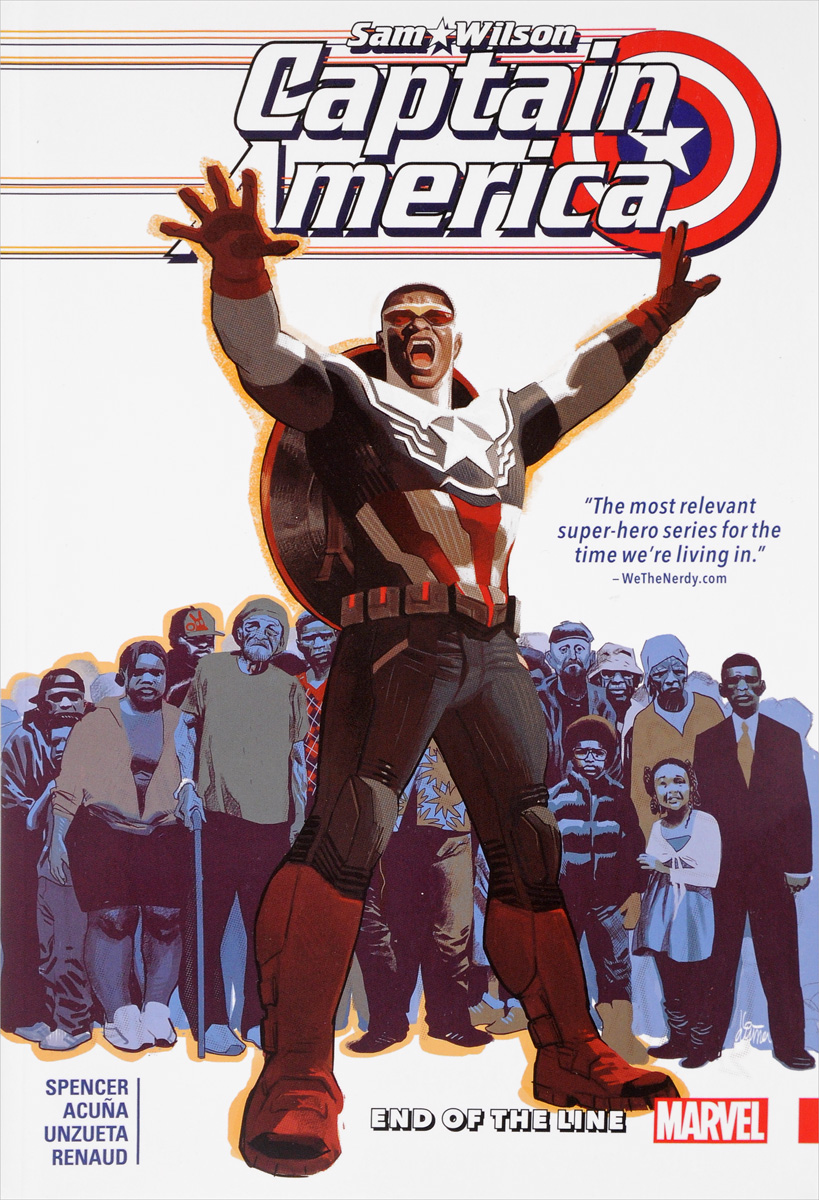 Captain America: Sam Wilson Volume 5: End of the Line captain america the ultimate guide to the first avenger