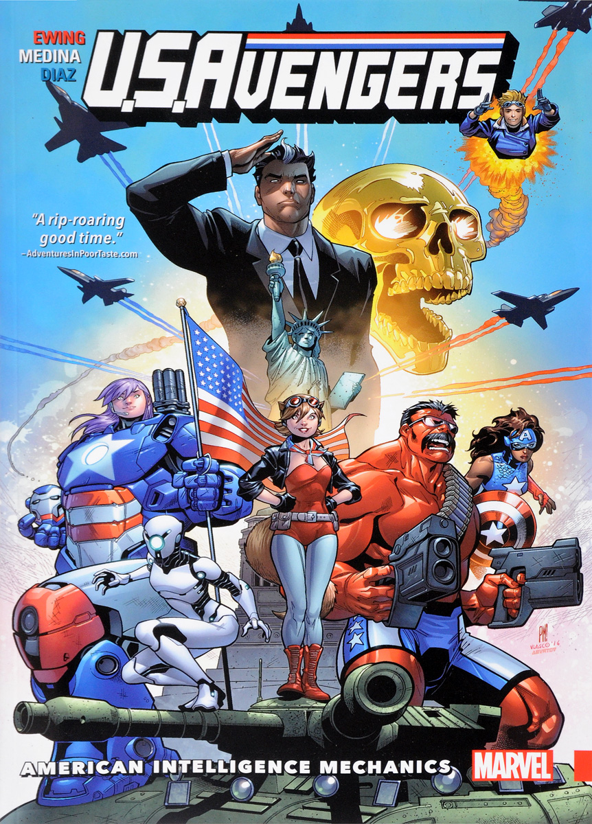 U. S. Avengers Volume 1: American Intelligence Mechanics collective intelligence mankind s emerging world in cyberspace