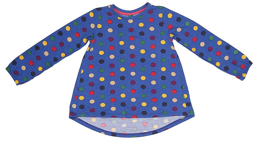 Фото Лонгслив для девочки United Colors of Benetton, цвет: синий. 3FK7C13AE_903. Размер 130