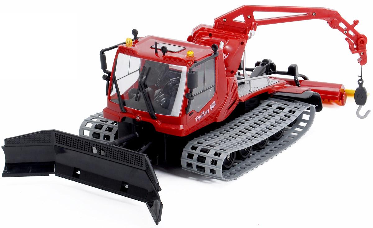 Dickie Toys Снегоуборочная машина на радиоупралвении Pistenbully 600 dickie toys машинка bumblebee