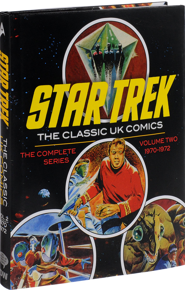 Star Trek: The Classic UK Comics Volume 2 the dc comics guide to coloring and lettering comics
