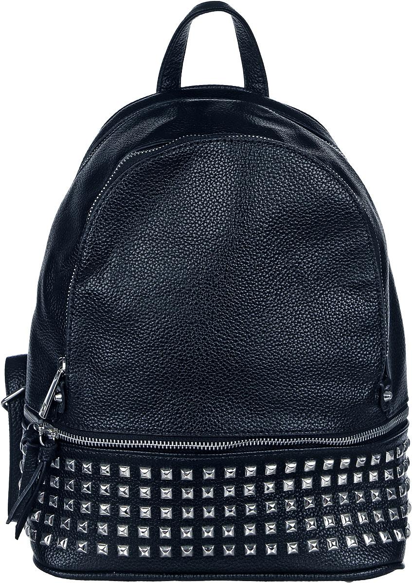 Рюкзак женский DDA, цвет: черный. DDA LB-2053BK рюкзак женский dda цвет песочный dda sb 1052 dg