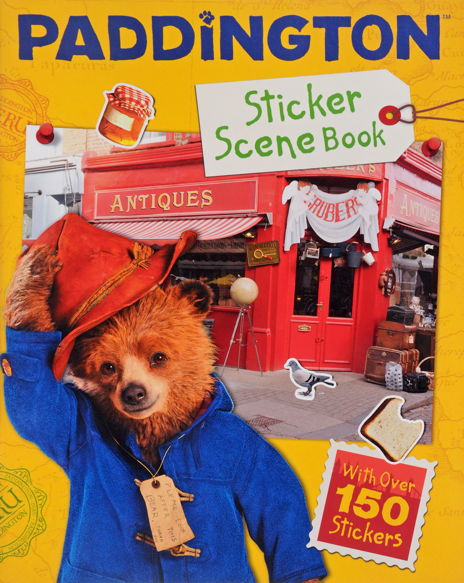 Paddington: Sticker Scene Book first sticker book cities of the world