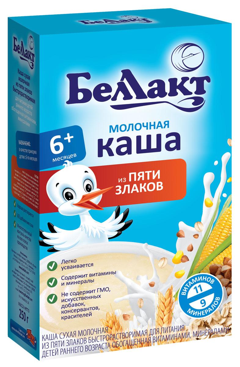 Беллакт каша молочная из пяти злаков, 250 г