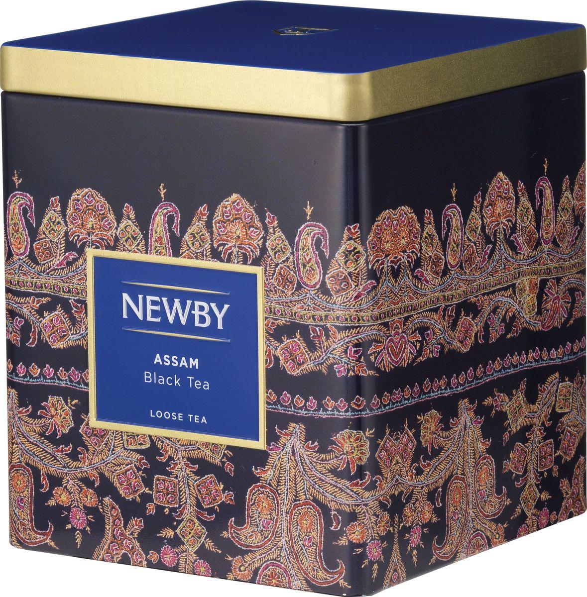 Newby Assam черный листовой чай, 125 г newby assam черный чай в пакетиках 25 шт