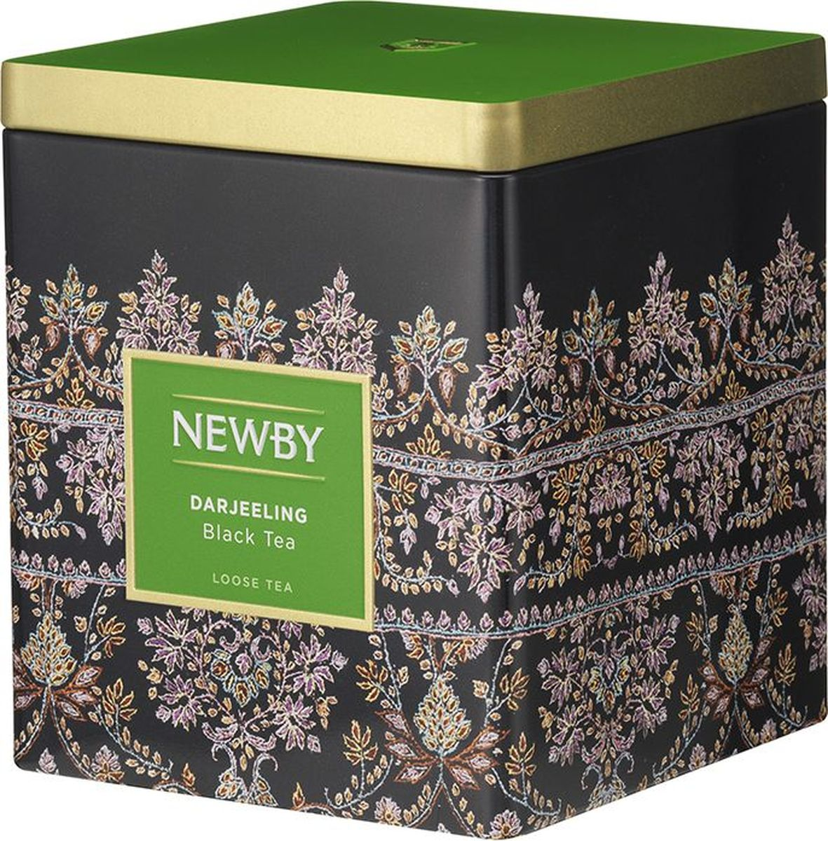Newby Darjeeling черный листовой чай, 125 г greenfield fine darjeeling черный листовой чай 100 г