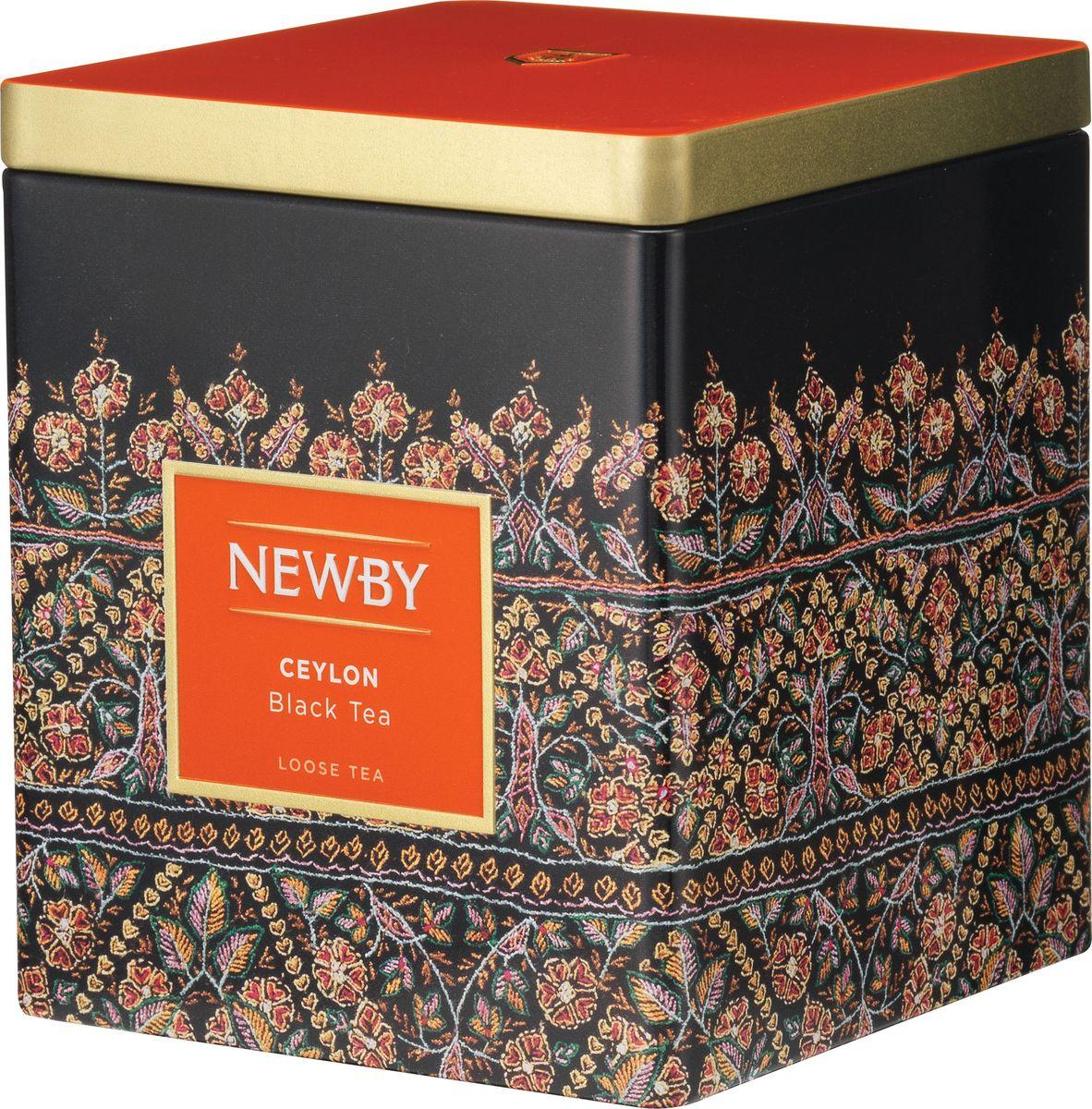 где купить  Newby Ceylon черный листовой чай, 125 г  по лучшей цене