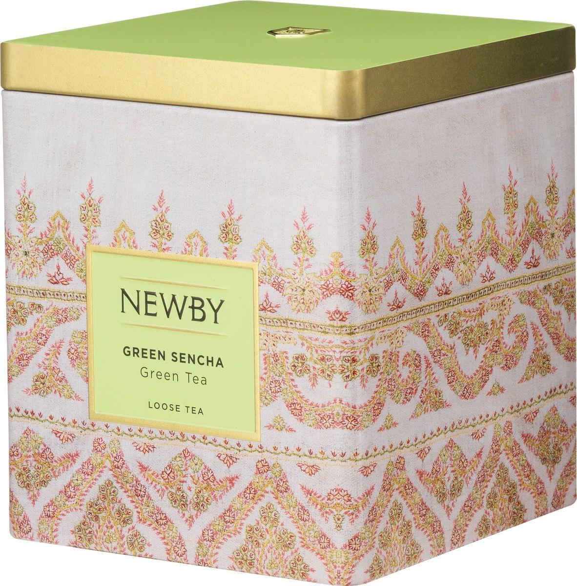 Newby Green Sencha зеленый листовой чай, 125 г130080АСобранные ранней весной, чайные листья этого самого популярного сорта зеленого чая обрабатываются паром, что позволяет сохранить их первозданную свежесть. Обладает насыщенным превосходным ароматом риса.