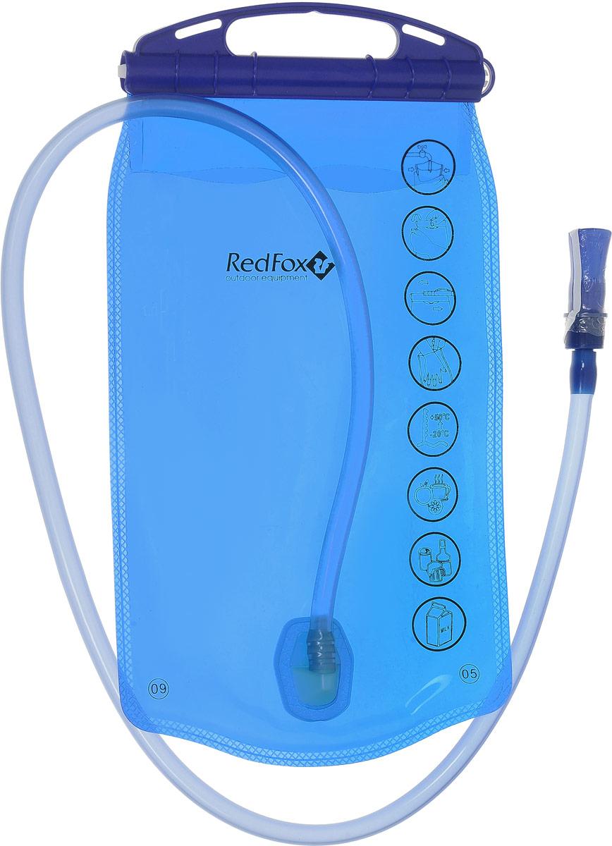 Питьевая система Red Fox, цвет: синий, 1 л15271Регулярное питье во время движения позволит вам дольше сохранить работоспособность. Система снабжения питьевой водой Red Fox обеспечивает постоянный поток воды, не создавая помех вашей спортивной деятельности. - специальная пленка с гладкой, как стекло, внутренней поверхностью, позволяет хранить воду в течение нескольких дней без появления неприятного привкуса,- благодаря своим молекулярным свойствам система очень гигиенична и легко моется.- максимальная температура наливаемой воды 50°С.- объем пакета: 1 л.- длина питьевого шланга: 1 м.
