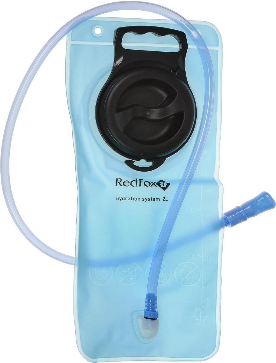 Питьевая система Red Fox, цвет: голубой, 2 л15271Регулярное питье во время движения позволит вам дольше сохранить работоспособность. Система снабжения питьевой водой Red Fox обеспечивает постоянный поток воды, не создавая помех вашей спортивной деятельности. - специальная пленка с гладкой, как стекло, внутренней поверхностью, позволяет хранить воду в течение нескольких дней без появления неприятного привкуса,- благодаря своим молекулярным свойствам система очень гигиенична и легко моется.- максимальная температура наливаемой воды 50°С.- объем пакета: 2 л.- длина питьевого шланга: 1 м.