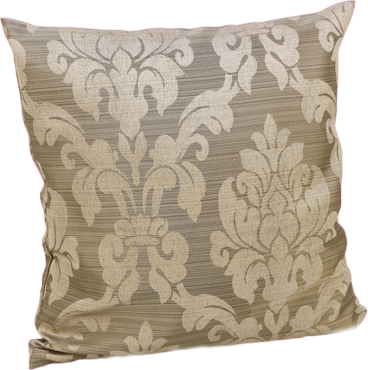 Подушка декоративная KauffOrt Афина, цвет: коричневый, 40 х 40 см3122286630