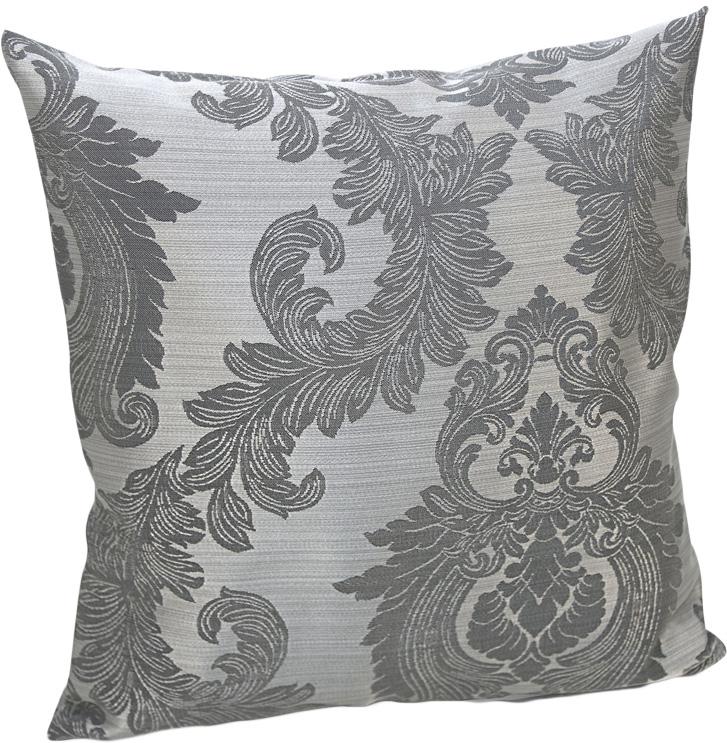 Подушка декоративная KauffOrt Варна, цвет: серый, 40 х 40 см декоративные подушки kauffort декоративная подушка agra 40х40