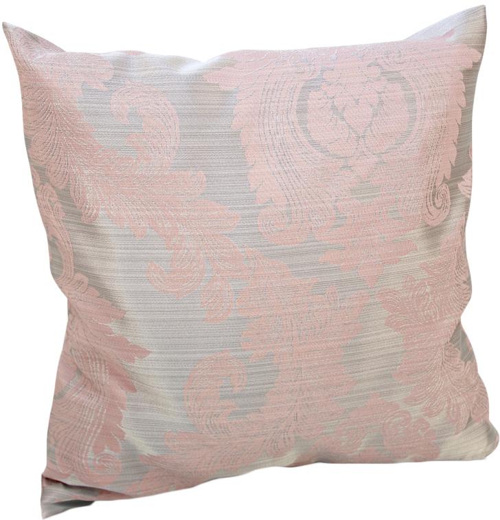 Подушка декоративная KauffOrt Варна, цвет: розовый, 40 х 40 см