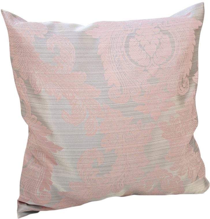 Подушка декоративная KauffOrt Варна, цвет: розовый, 40 х 40 см штора легкая kauffort barolo