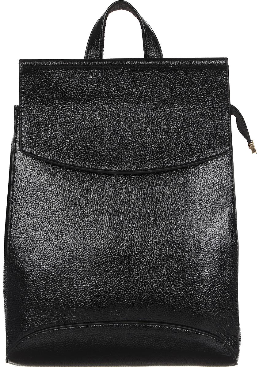 Рюкзак женский DDA, цвет: черный. DDA LB-1074BKDDA LB-1074BK