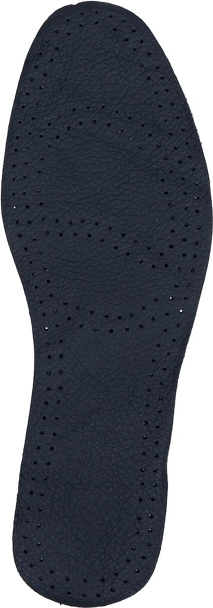 Стельки для обуви Практика Здоровья, цвет: черный. СТК8. Размер 43СТК8Стельки из натуральной кожи, с основой из латекса и фильтром из активированного угля. Прекрасно впитывают влагу и нейтрализует неприятные запахи.Дополнительная перфорация обеспечивает лучшую циркуляцию воздуха.Обеспечивают мягкость и комфорт при ходьбе, дарят приятное ощущение сухости ног в обуви.