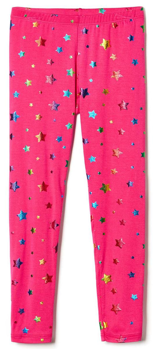 Леггинсы для девочки United Colors of Benetton, цвет: розовый. 3IG1I0568_903. Размер 1003IG1I0568_903Леггинсы для девочки выполнены из качественного материала. Облегающая модель стандартной посадки дополнена эластичной резинкой на талии и оформлена оригинальным принтом.