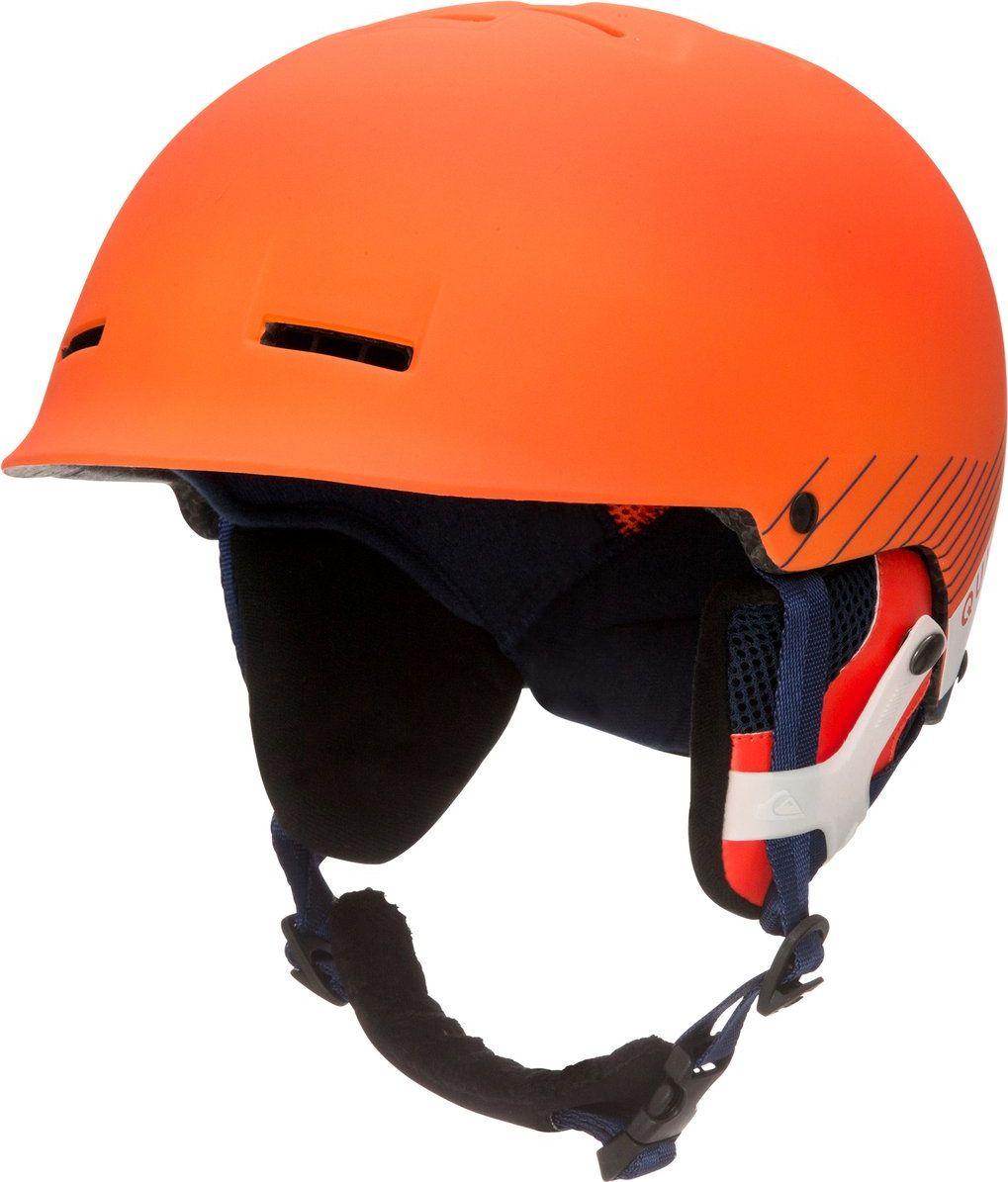 Сноубордический шлем Quiksilver Fusion, цвет: оранжевый. Размер 54/56EQYTL03019-NMS0Основной материал шлема Quiksilver Fusion: двойной микрошелл + сверхлегкая литая конструкция.Безопасность: ударопоглощающий пенный полимер EPS.Фронтальная и верхняя вентиляция.Подкладка из сетки и флиса.Мягкие термоформованные съемные накладки на уши.Стреп на подбородок: выполнен из мягкой шерпыВес: 350 г. Что взять с собой на горнолыжную прогулку: рассказывают эксперты. Статья OZON Гид