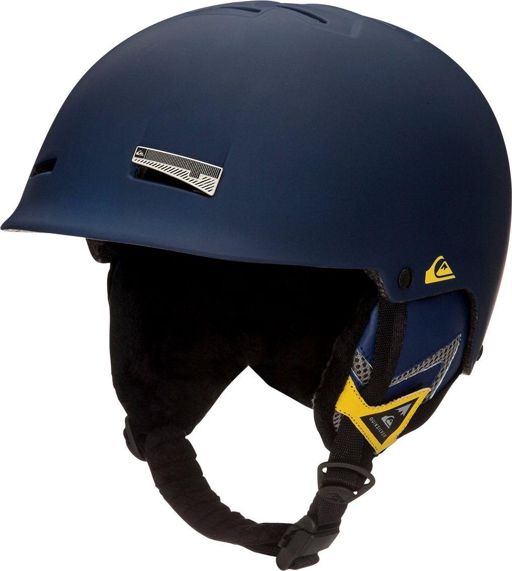 Сноубордический шлем Quiksilver Skylab 2.0, цвет: синий. Размер 58/60EQYTL03014-BSW0Основной материал шлема Quiksilver Skylab 2.0: двойной микрошелл + сверхлегкая литая конструкция.Безопасность: ударопоглощающий пенный полимер EPS и козырек из полимера EVA.Пассивная фронтальная и верхняя вентиляция.Подкладка из сетки и флисовой шерпы.Имеет мягкие термоформованные съемные накладки на уши.Стреп на подбородок выполнен из мягкой шерпы и оснащен застежкой системы Fidlock.Система регулировки размера.Состав: 100% пластик.