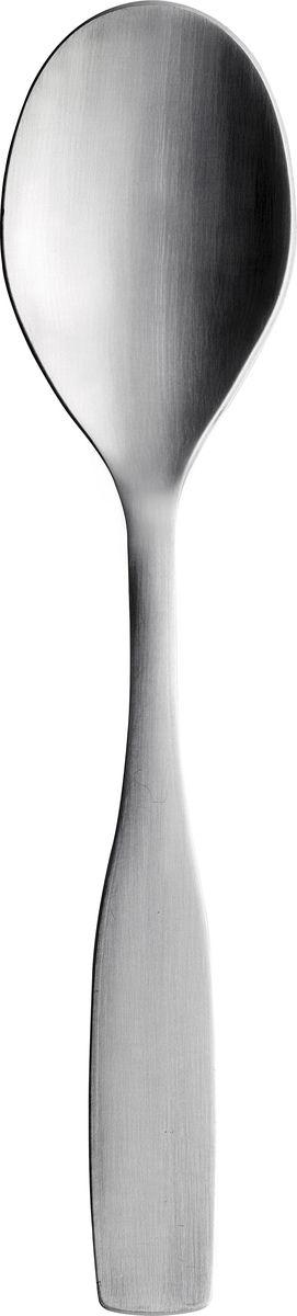 Десертная ложка Iittala Citterio, цвет: металлик1009799Качественная десертная ложка из нержавеющей стали, отличается стильным и современным дизайном.