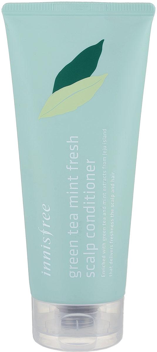 Innisfree Освежающий кондиционер с зеленым чаем и мятой, 300 мл532094Кондиционер для тусклых и склонных к жирности волос. Регулирует выработку кожного жира, эффективно очищает кожу головы, освежает. Входящий экстракт мяты препятствует образованию перхоти, дарит чувство прохлады и стимулирет активный рост волос. Экстакт зеленого чая насыщает минералами, дарит блеск и склеивает чешуйки. Содержит масло лимона, масло листьев розмарина, масло подсолнечника, масло мяты, экстракт кожуры мандарина, экстракт листьев камелии, экстракт орхидеии и опунции. Без ароматизаторов и искуственных красителей.