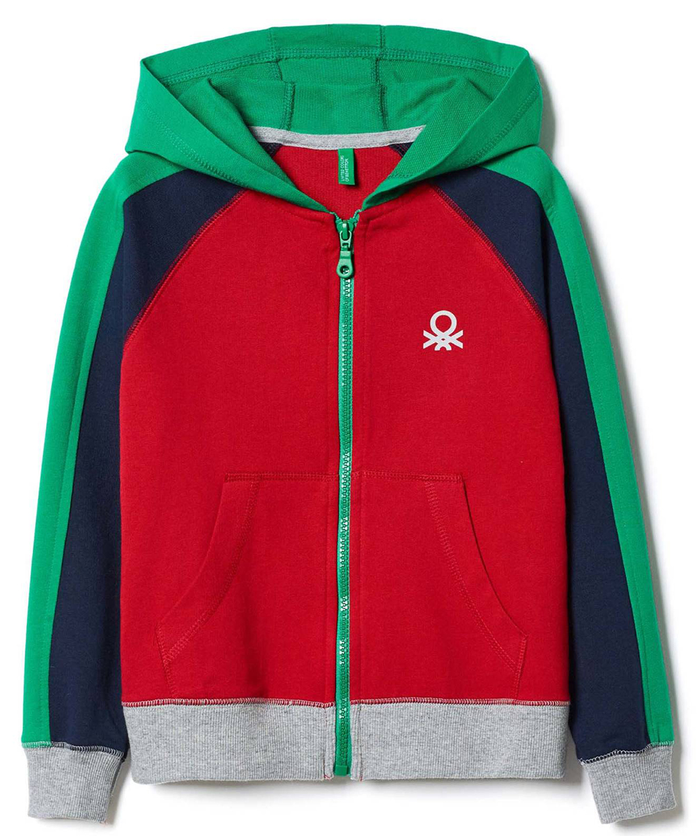 Пиджак для мальчиков United Colors of Benetton, цвет: красный. 3JD4C5272_07C. Размер 1703JD4C5272_07C