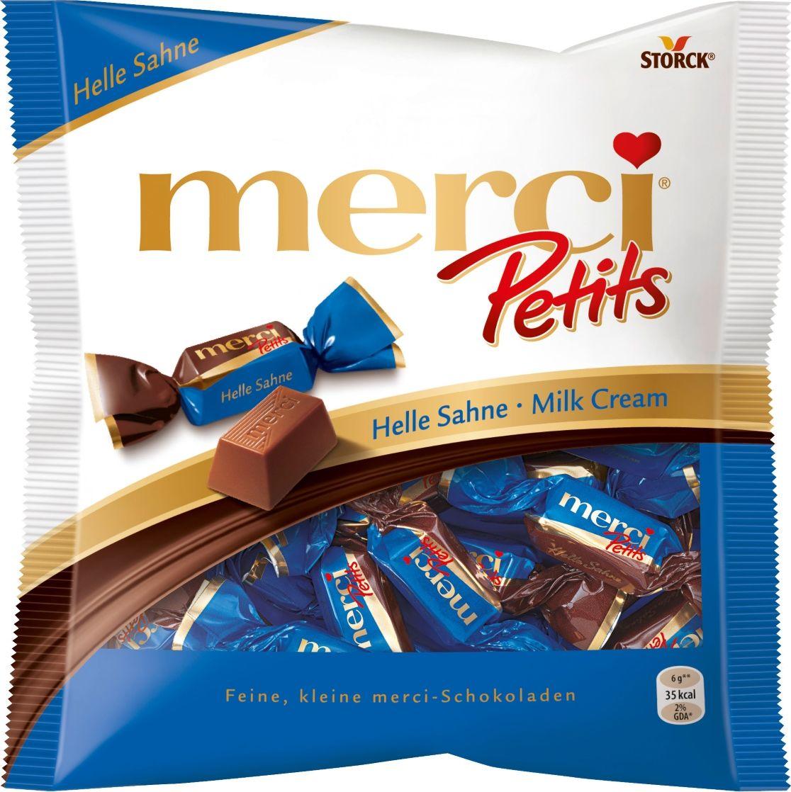 Merci Petits конфеты молочные, 125 г