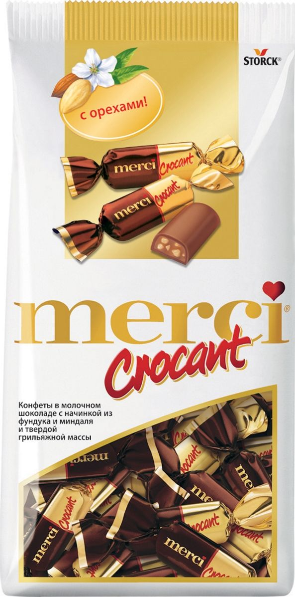 Merci Crocant Конфеты, 125 г конфеты jelly belly 100g