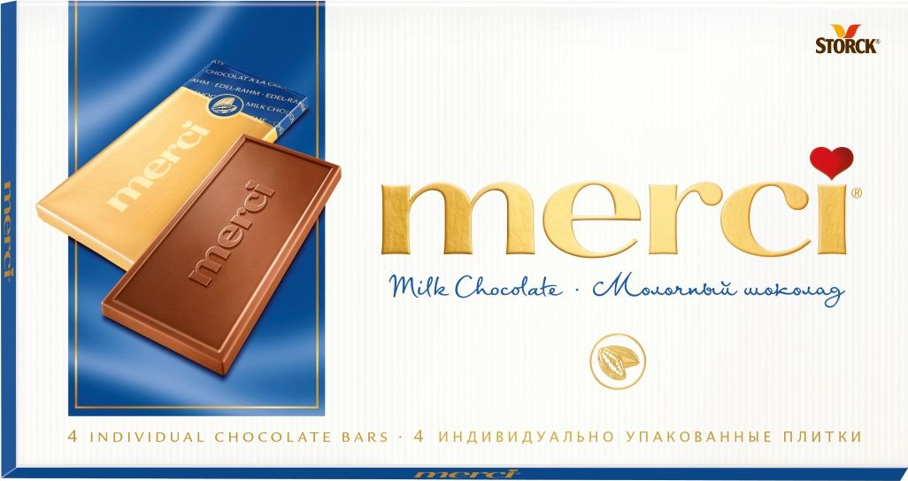 Merci Шоколад молочный, 100 г вижер пряники шоколадные 350 г