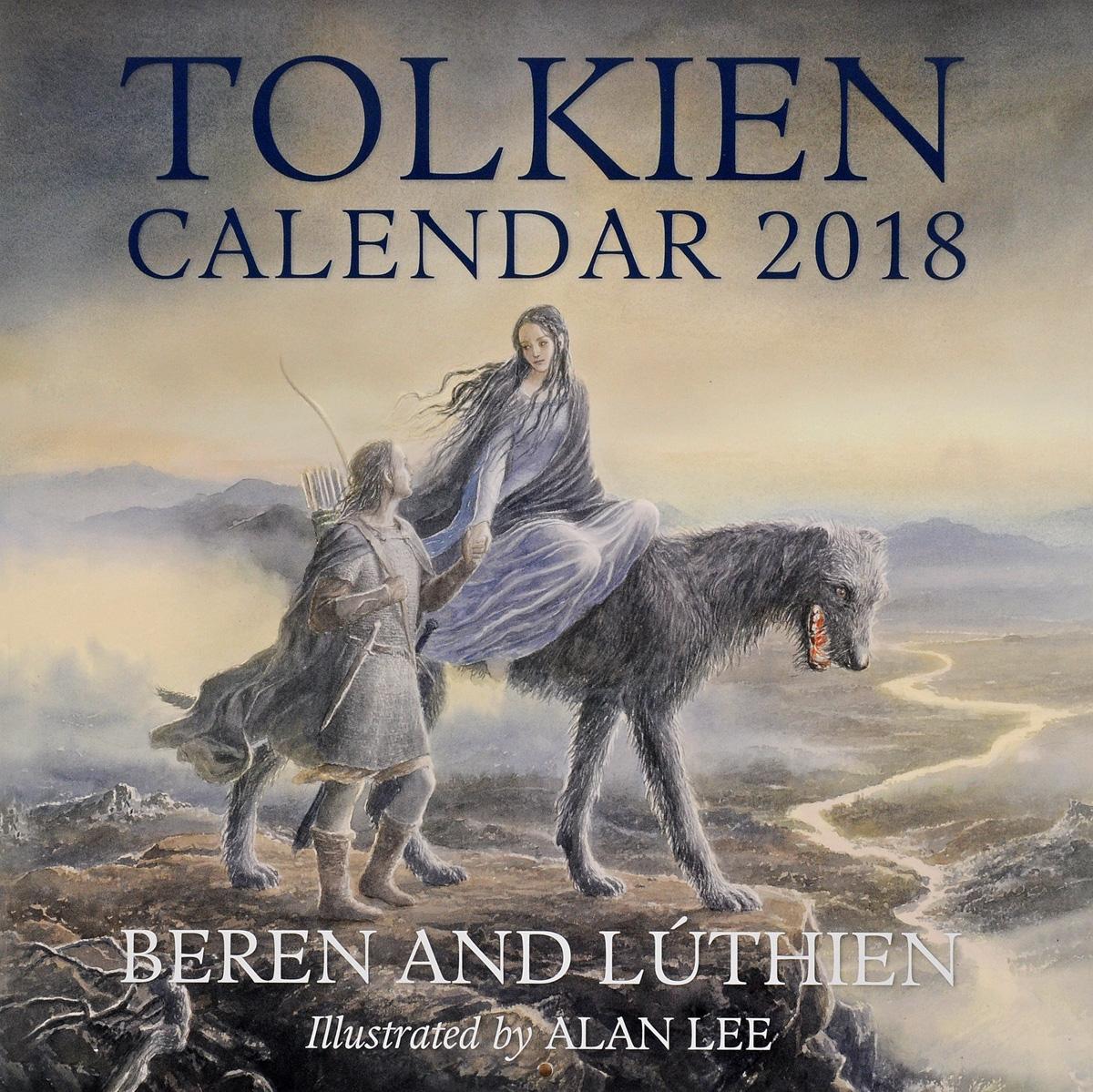 Tolkien Calendar 2018 an atlas of tolkien
