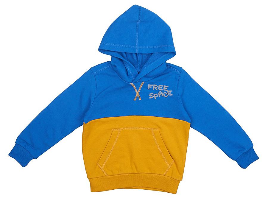 Толстовка для мальчика United Colors of Benetton, цвет: синий. 3LO1C2089_33M. Размер 1703LO1C2089_33MТолстовка для мальчика United Colors of Benetton выполнена из натурального хлопка. Модель с капюшоном и длинными рукавами.