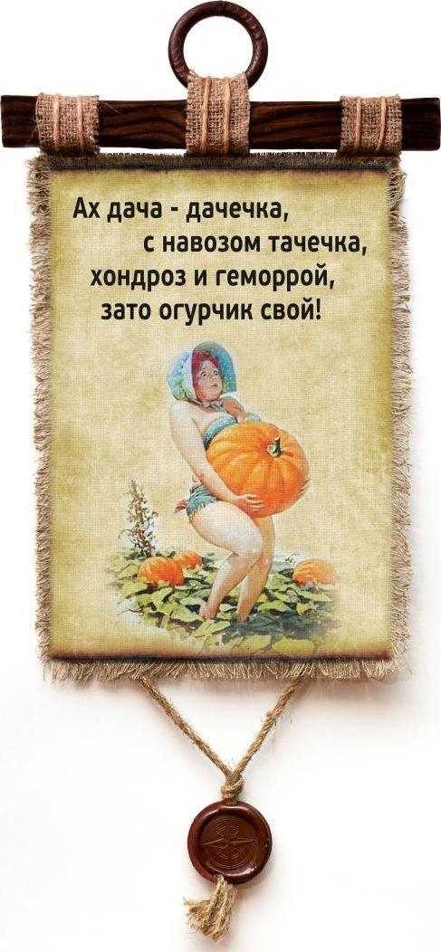 Украшение декоративное Универсальный cвиток Дача Тыква , подвесное, А4097-4-В-П