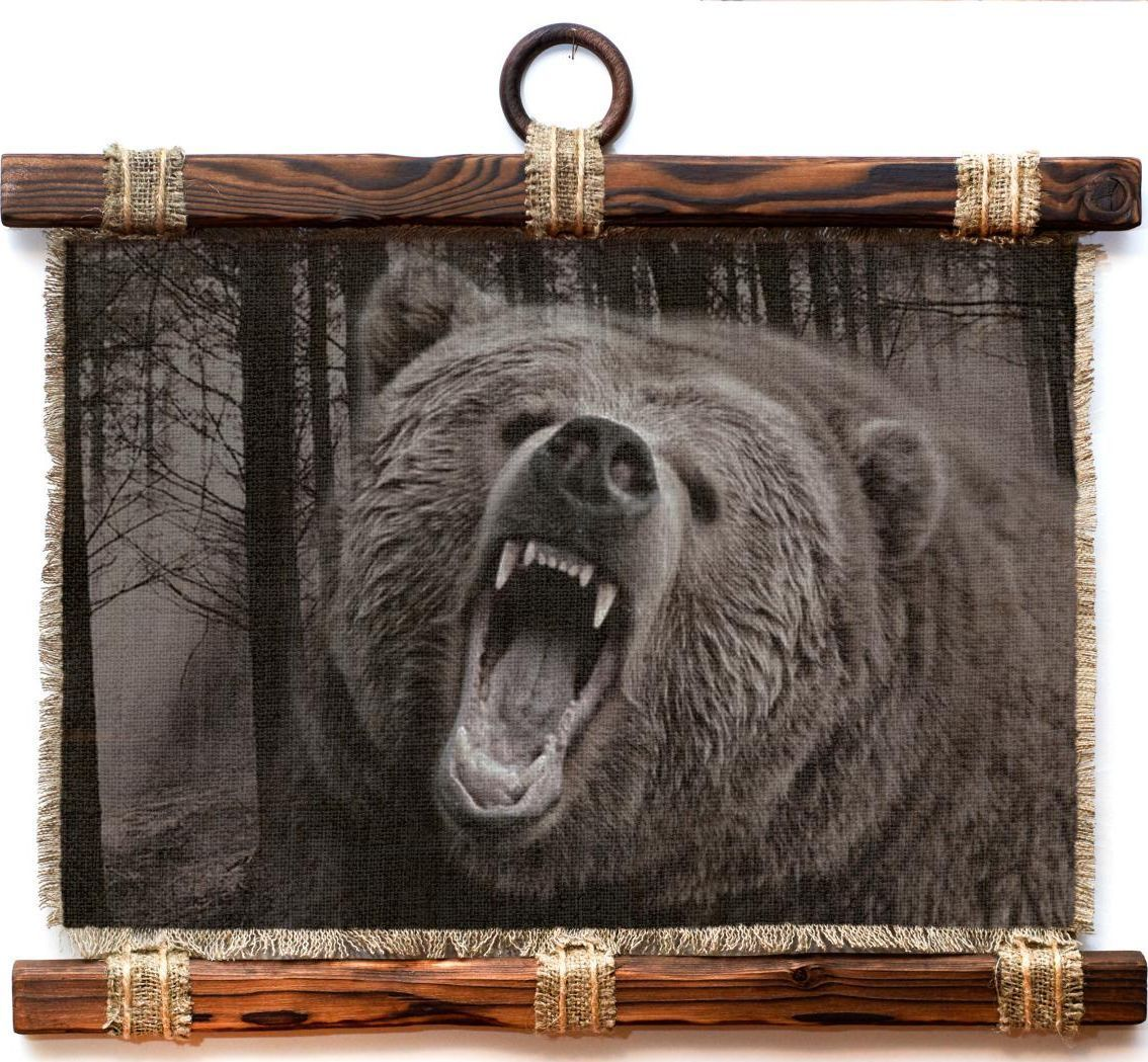 Украшение декоративное Универсальный cвиток Охота медведь , подвесное, А4242-4-Г-РДекоративное подвесное украшение «Универсальный свиток» послужит послужит приятным и полезным сувениром для близких и знакомых и,несомненно, доставит массу положительных эмоций своему обладателю. Размер: формат А4