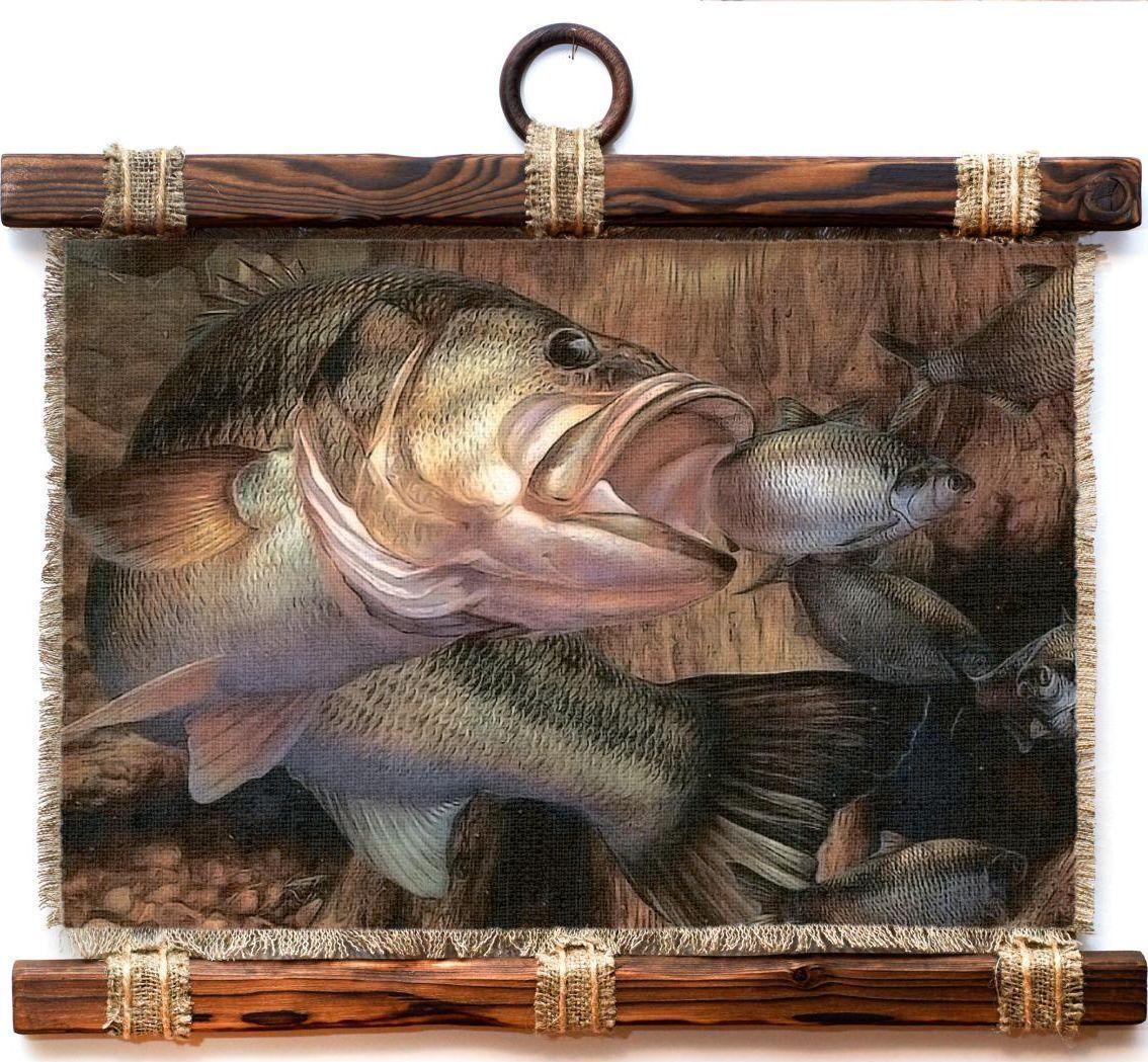 Украшение декоративное Универсальный cвиток Рыбалка Рыба хищник , подвесное, А4397-4-Г-РДекоративное подвесное украшение «Универсальный свиток» послужит послужит приятным и полезным сувениром для близких и знакомых и, несомненно, доставит массу положительных эмоций своему обладателю.Размер: формат А4