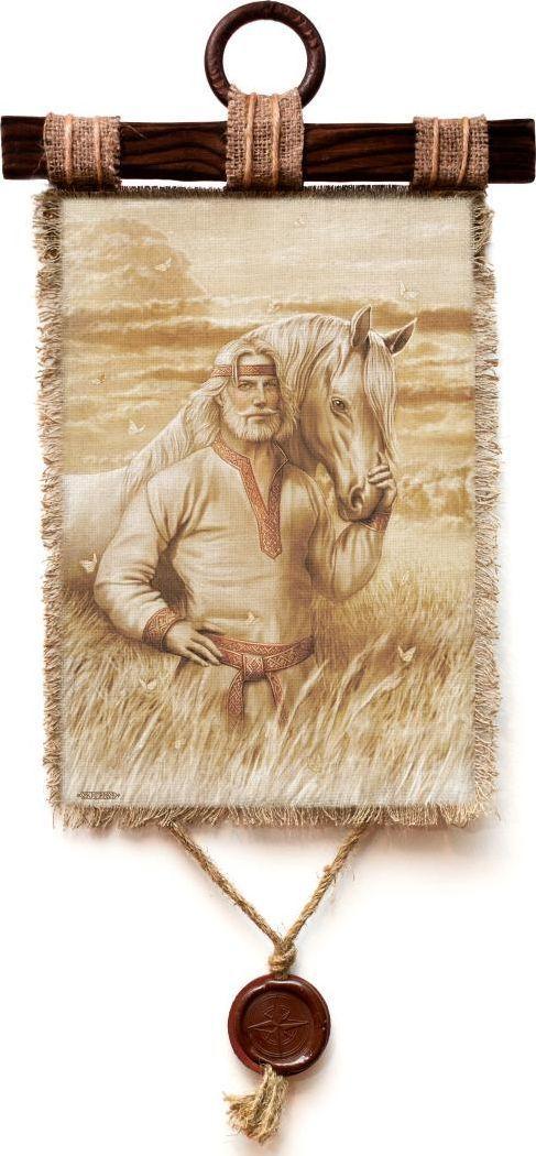 Украшение декоративное Универсальный cвиток Белая Русь Богатырь , подвесное, А4773-4-В-П