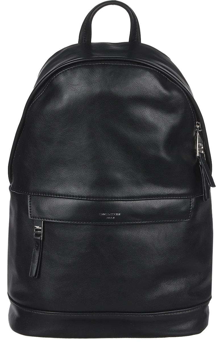 Рюкзак женский David Jones, цвет: черный. DAVID JONES 696604 BLACK рюкзак david jones david jones da919bwcnrp8