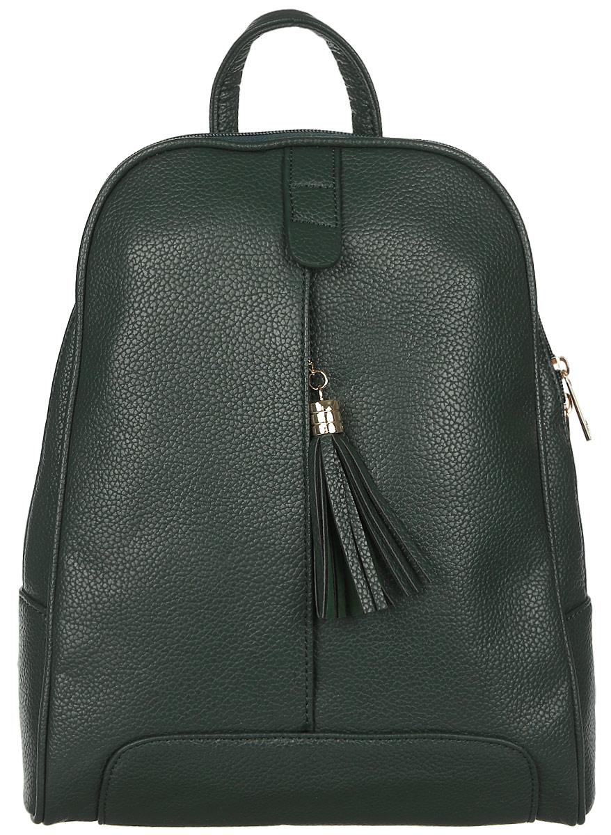 Рюкзак женский DDA, цвет: темно-зеленый. DDA LB-2036DG