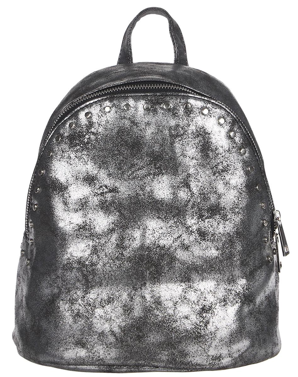 Рюкзак женский DDA, цвет: серебристый. DDA LB-2040SL рюкзак женский dda цвет песочный dda sb 1052 dg