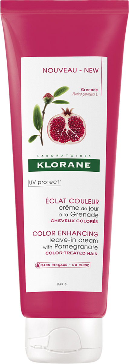 Klorane Крем-уход Coloured Hair с Гранатом для окрашенных волос 150млC03948Сохраняет яркость цвета окрашенных волос. Восстанавливает кутикулу волоса, облегчает расчесывание. Придает волосам мягкость и блеск. Сохраняет яркость цвета