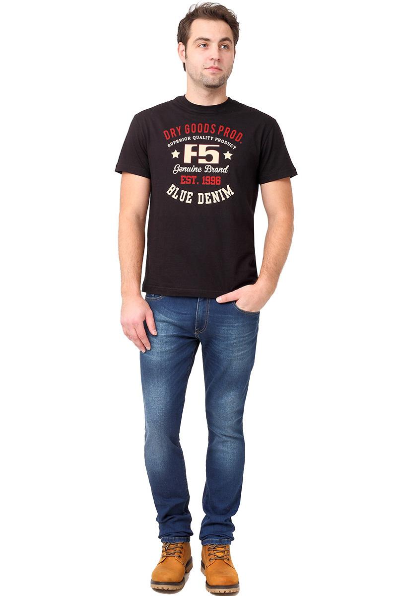 Футболка мужская F5 TR Plain Super, цвет: черный. 270112. Размер XXL (54)270112_black