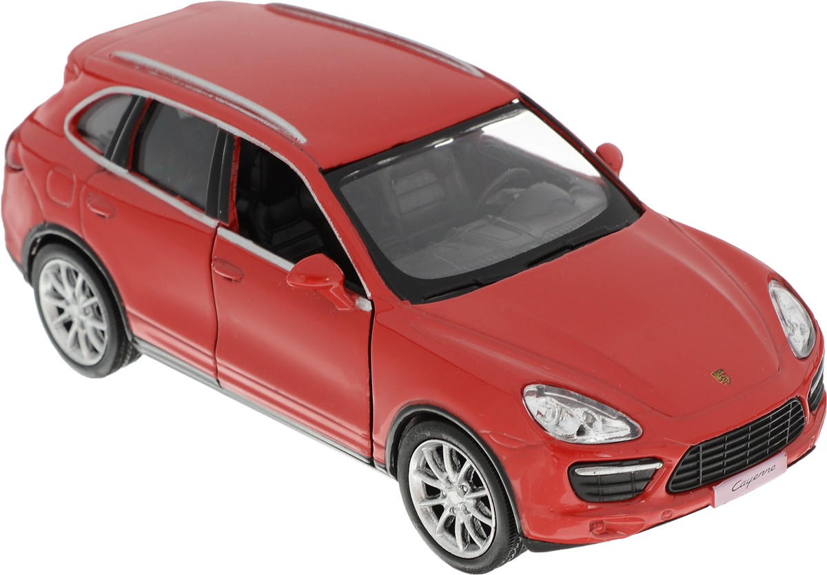 Autotime Модель автомобиля Porsche Cayenne Turbo цвет красный autotime collection 11446 уаз 31514 вдв