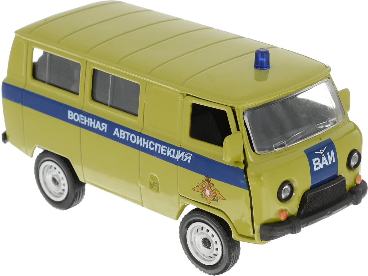 Autotime Модель автомобиля UAZ 39625 Военная автоинспекция autotime collection 11446 уаз 31514 вдв
