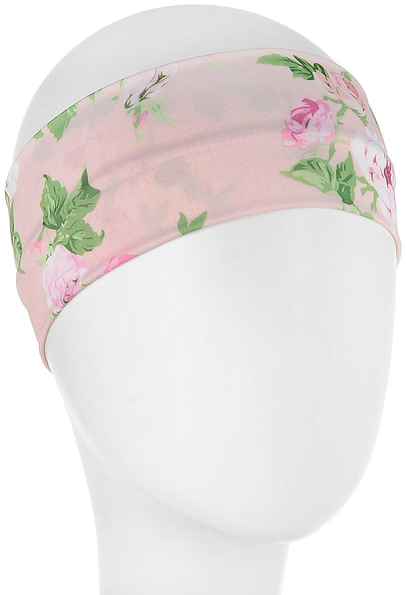 Повязка для волос Mitya Veselkov Шарм, цвет: розовый. 1636621 riffi повязка для волос цвет коралловый