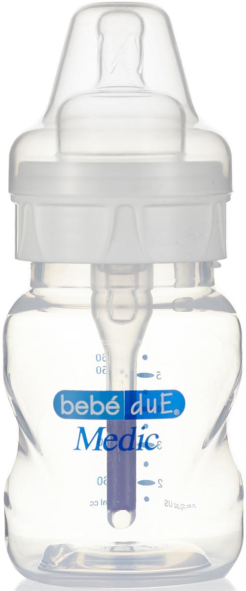 Bebe Due Medic Бутылочка с суперантиколиковой системой и термодатчиком 160 мл поильники bebe due чашка непроливайка bebe due medic