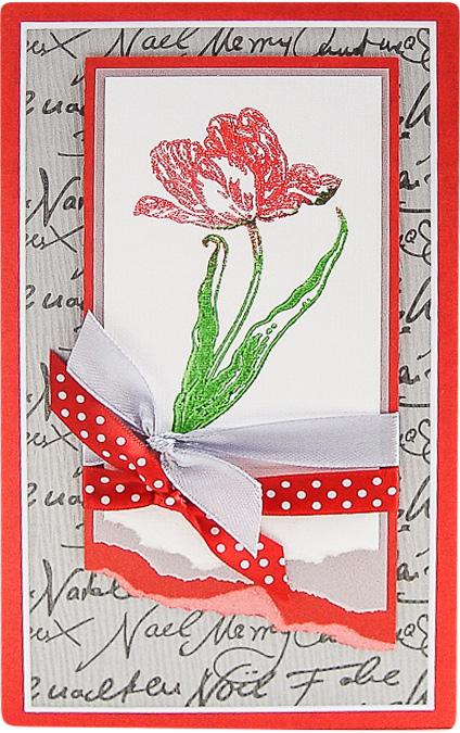 Конверт-открытка Студия Тетя роза Тюльпан. ОЖ-0084ОЖ-0084