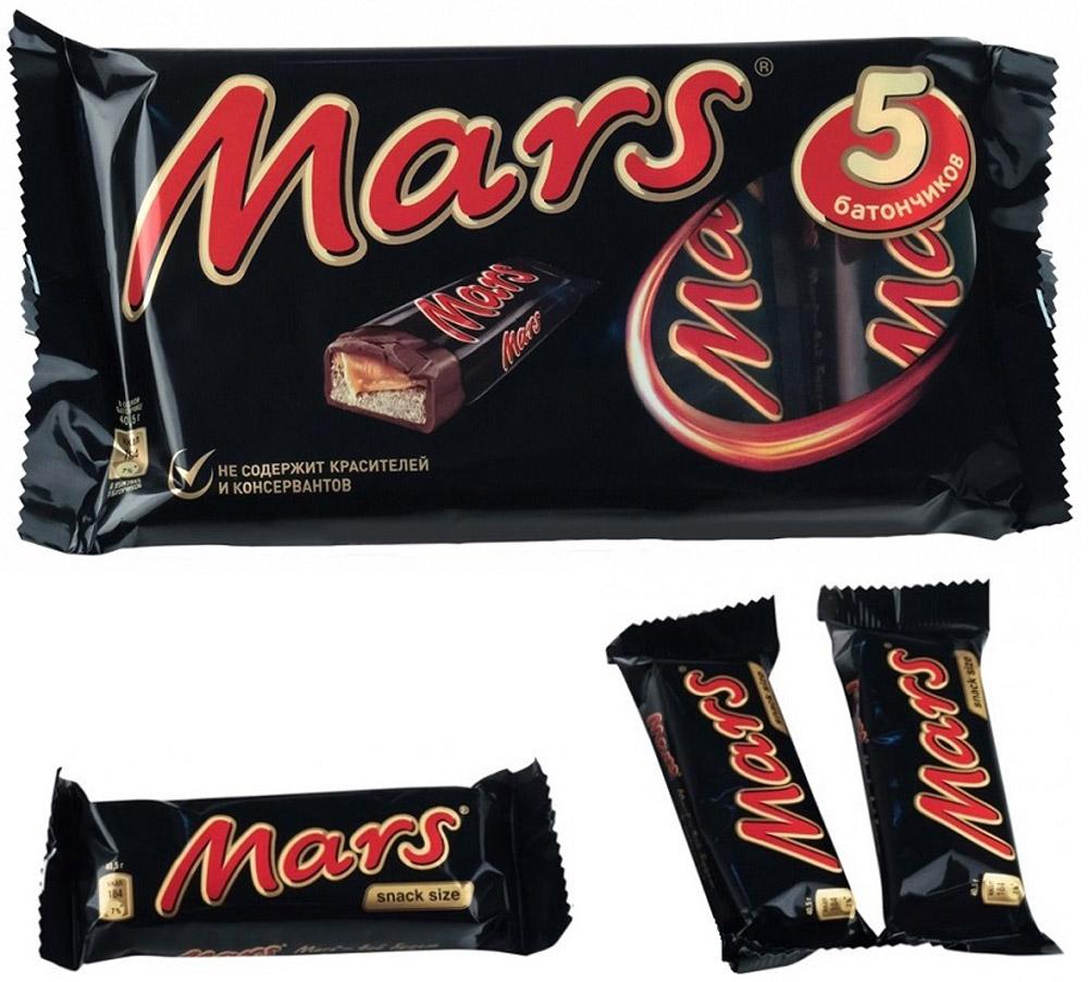 Mars шоколадный батончик, 202,5 г слим бар батончик