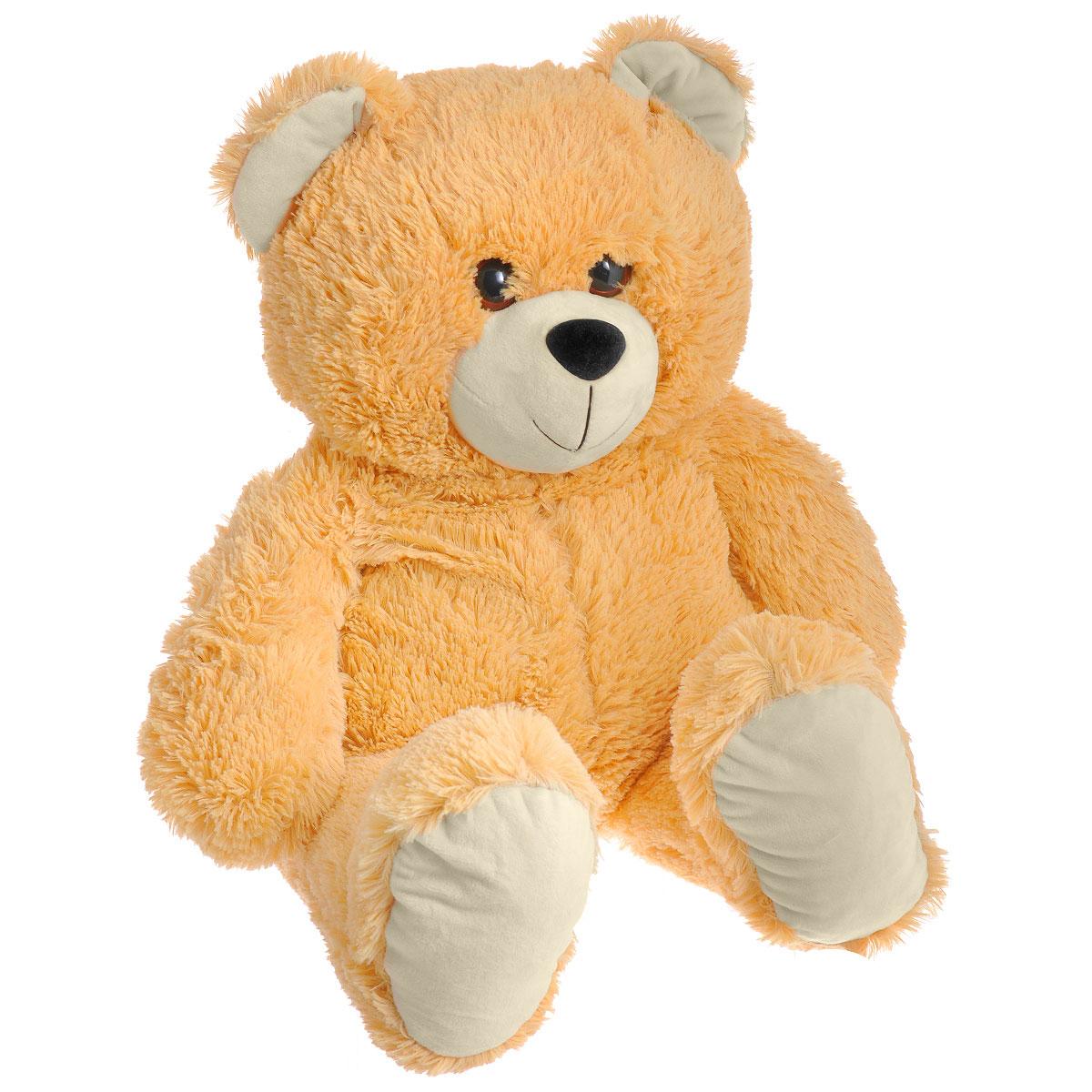Мягкая игрушка СмолТойс Медведь, 64 см смолтойс мягкая игрушка зайка даша цвет салатовый 41 см